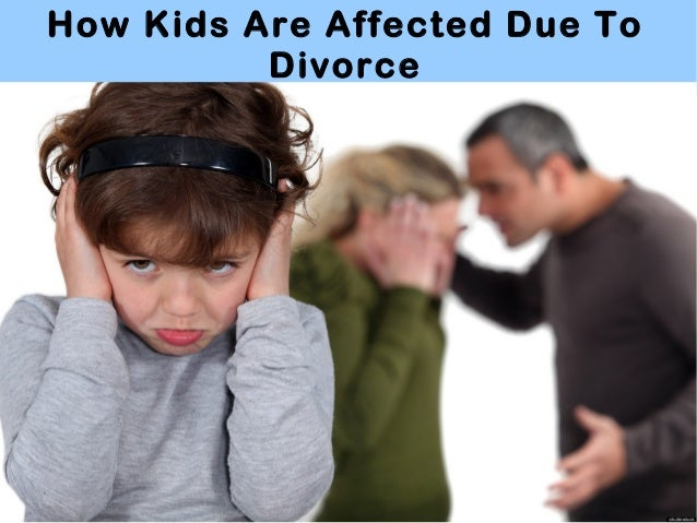 Divorce Affects Kids Too