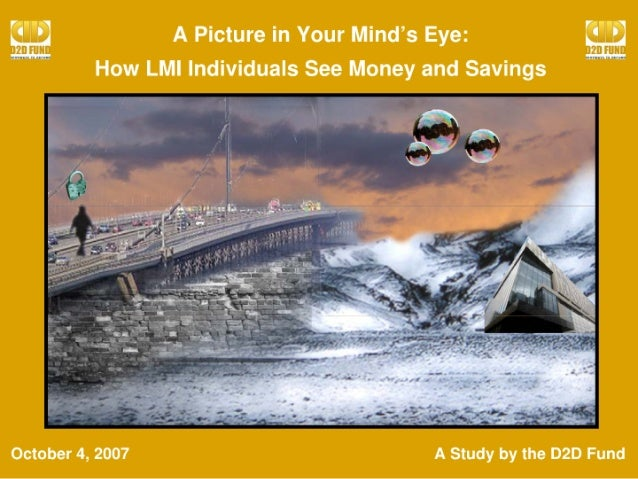 How LMI Individuals View Savings and Money