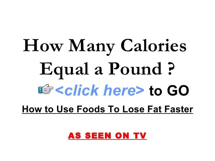 How Many Calories Do You Have To Burn Per Day To Lose