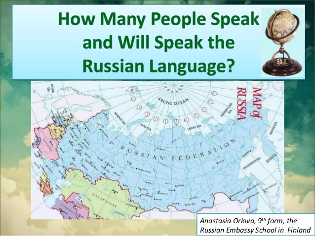 How many people  speak and will speak the russian language