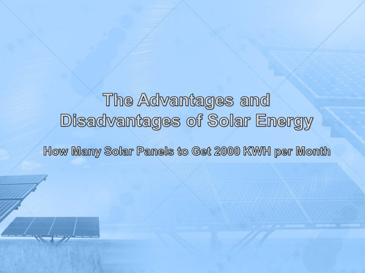 How many solar panels to get 2000 kwh per month