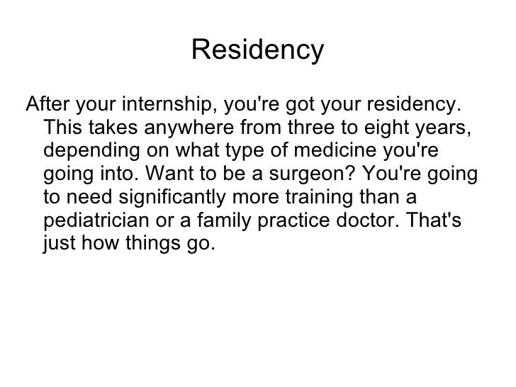 How long does it takes to become a doctor?