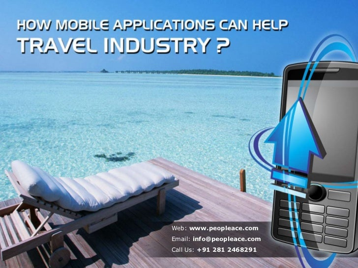 How mobile applications can help travel industry