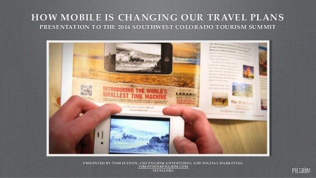How mobile is changing travel plans slide share version