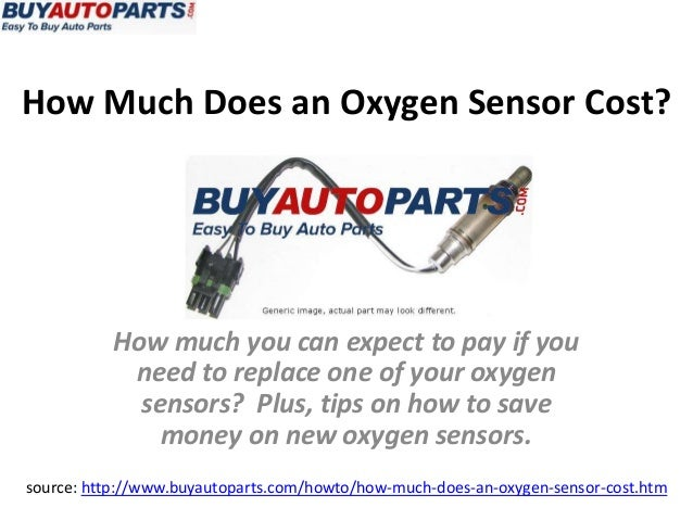 How Much Does An Oxygen Sensor Cost?