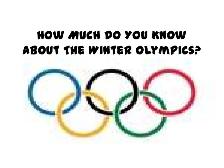 How Much Do You Know About The Winter Olympics?<br />