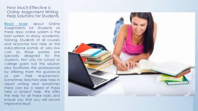 online report writing