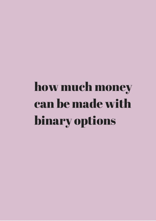 Best Binary Options Online Trading