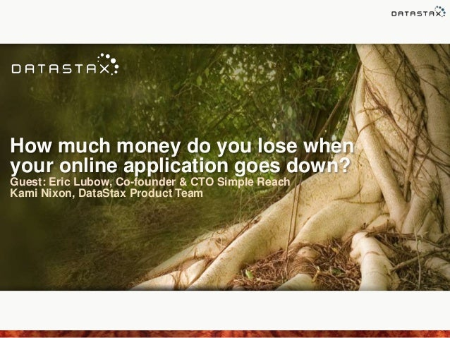 How much money do you lose when your online application goes down? Guest: Eric Lubow, Co-founder & CTO Simple Reach Kami N...