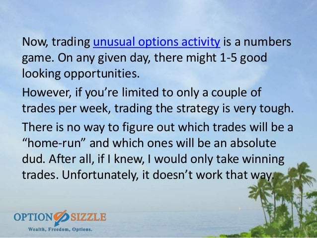 How many options are traded daily