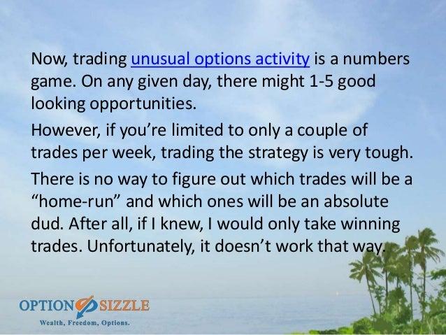 How do you do options trading