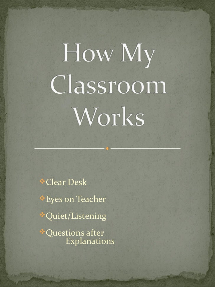 Clear DeskEyes on TeacherQuiet/ListeningQuestions after      Explanations