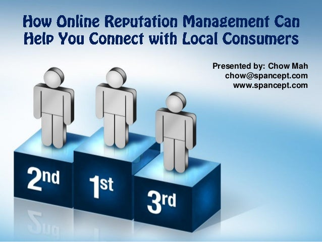 How Online Reputation Management Can Help You Connect with Local Consumers