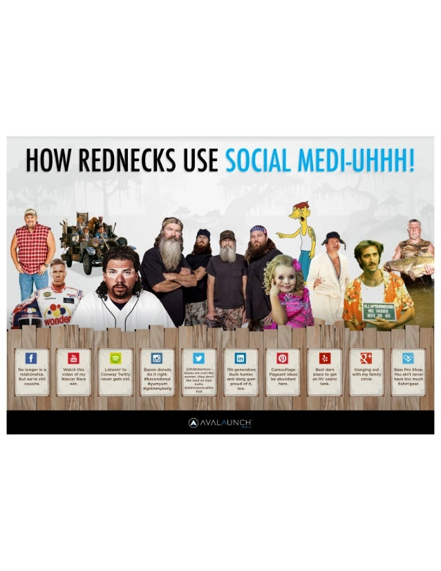 How Rednecks Use Social Media