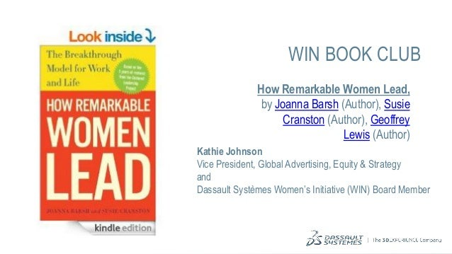How remarkable women lead- talking points for professional women