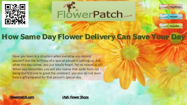 How Same Day Flower Delivery Can Save Your Day  Have you been in a situation when everyday you remind  yourself that the b...