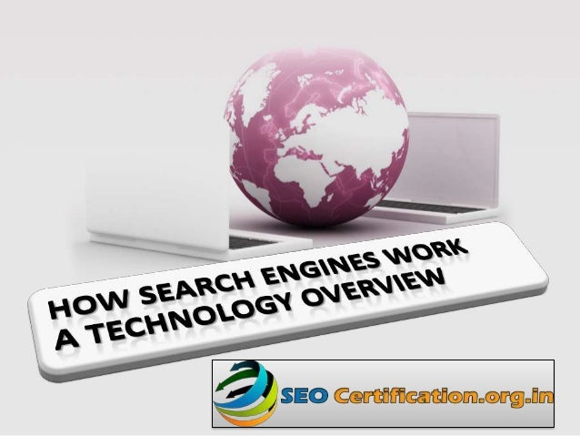 How search engines work Anand Saini