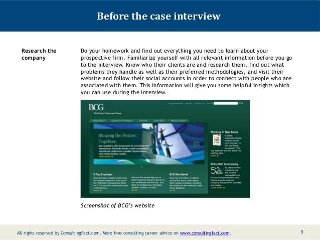 Case interview resources - Case interviews - Interviews, assessment