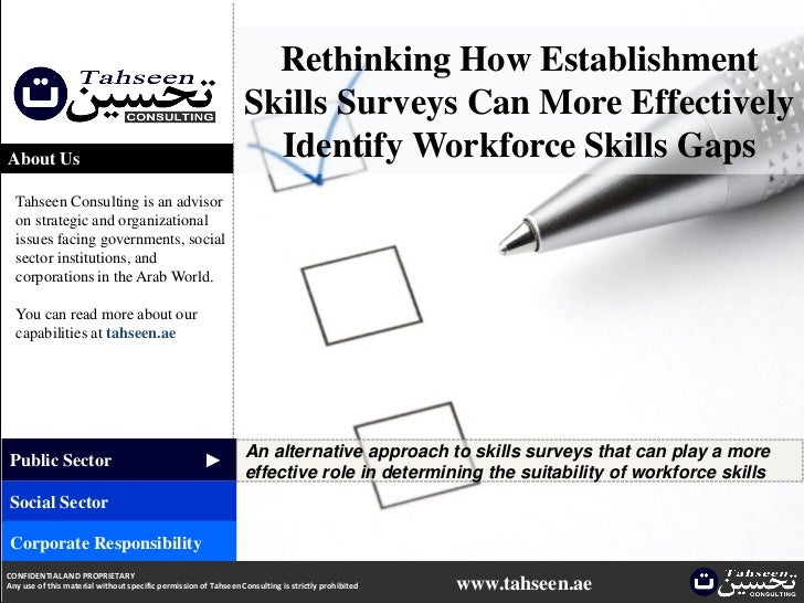 Rethinking How Establishment                                                                 Skills Surveys Can More Effec...