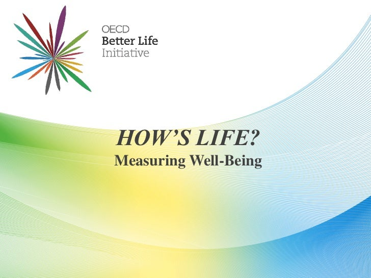 HOW'S LIFE?Measuring Well-Being