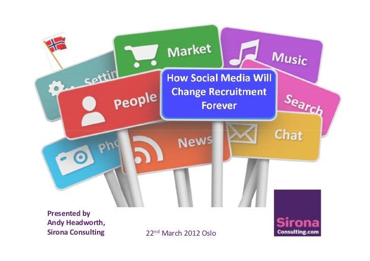 How social media will change recruitment forever