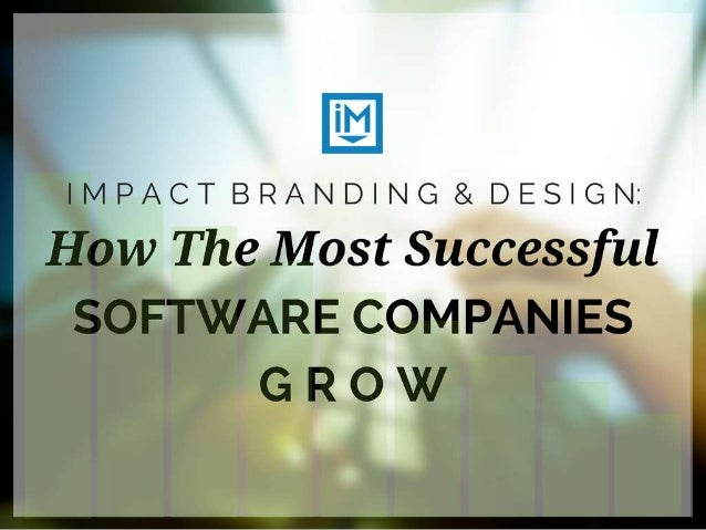 How Successful Software Companies Grow