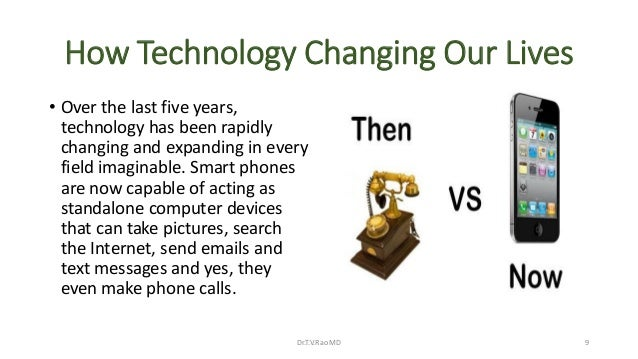how technology impact my life