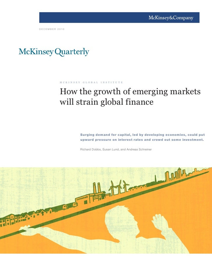 How The Growth Of Emerging Markets Will Strain Global Finance