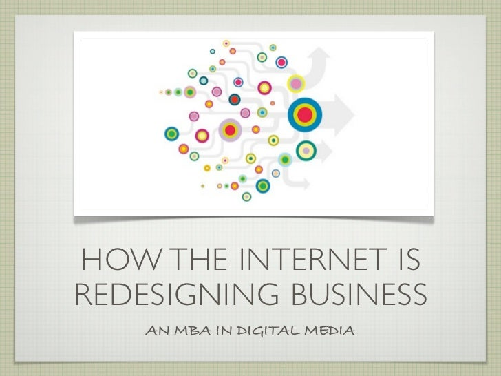 How the Internet is Redesigning Business by @JoeyShepp