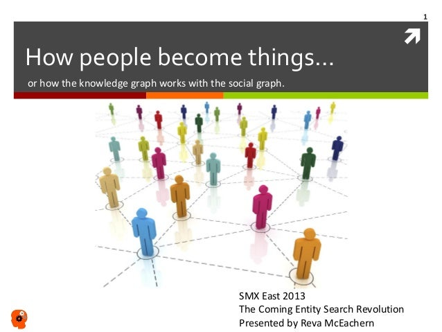 " How people become things… or how the knowledge graph works with the social graph. ""…when it comes to information, the re..."