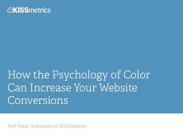How the Psychology of Color Can Increase Your Website Conversions