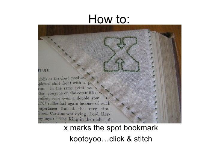 How To Make a Corner Bookmark