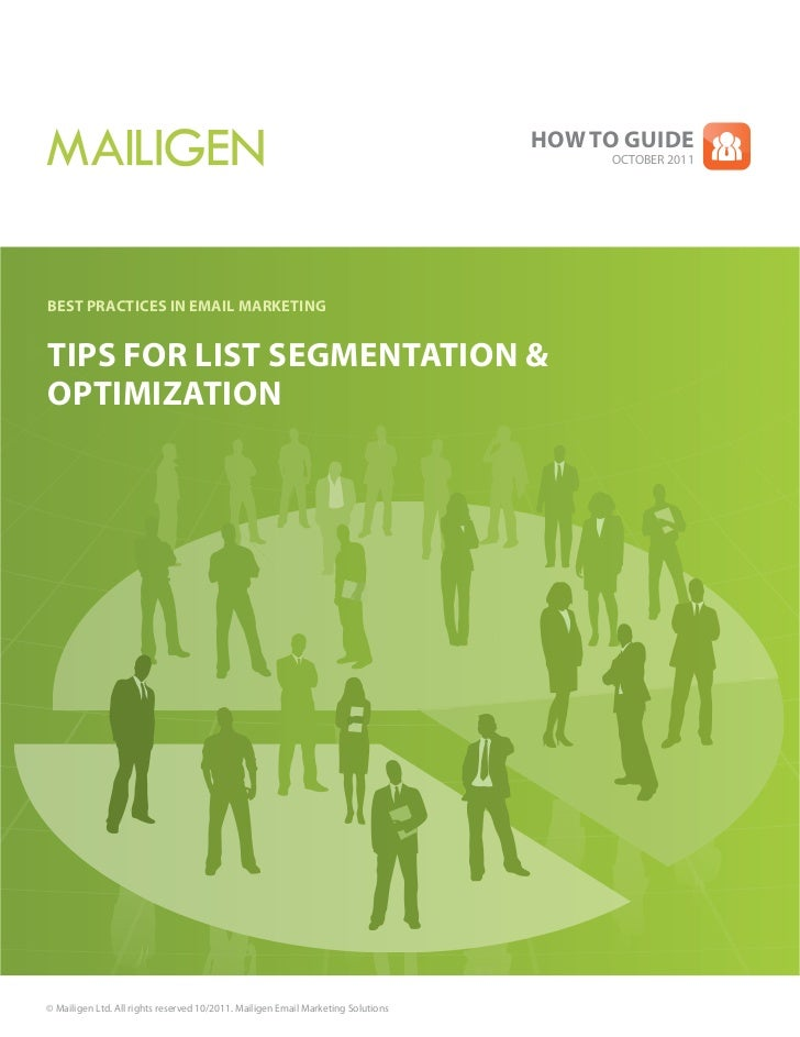 Tips for List Segmentation & Optimization