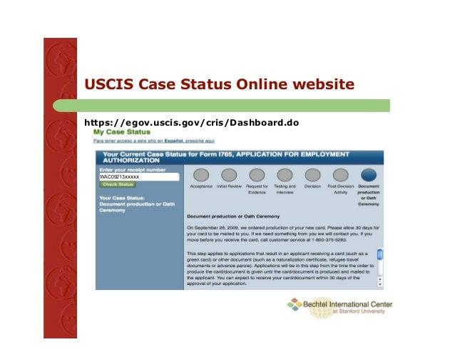 USCIS  myUSCIS Home Page