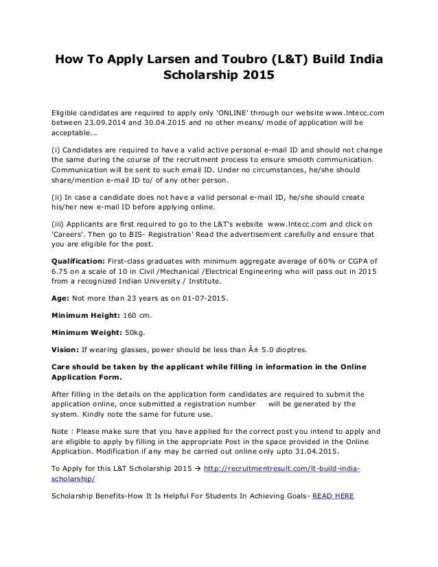 How do I apply for scholarships?