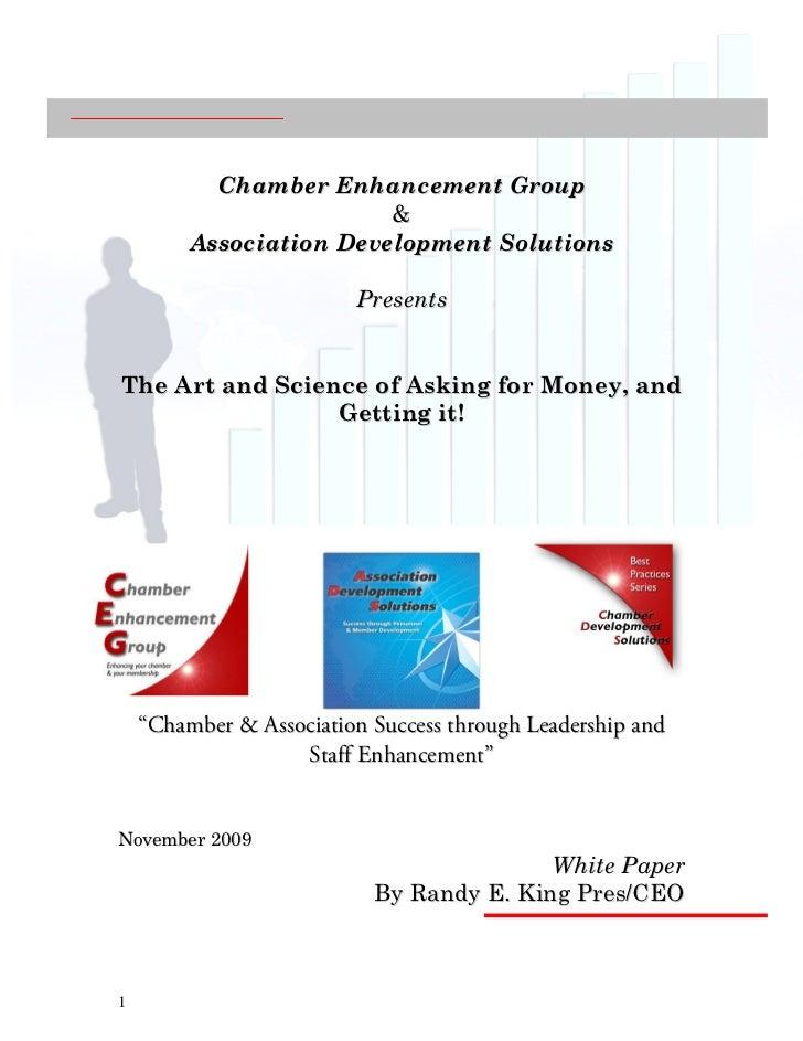 Chamber Enhancement Group                         &         Association Development Solutions                         Pres...