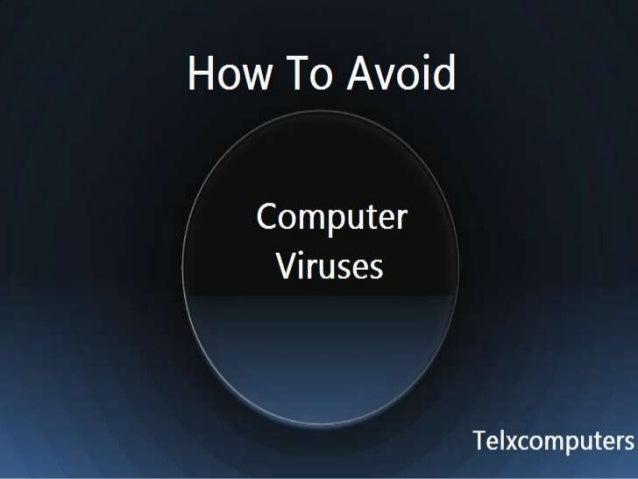 How to avoid computer viruses