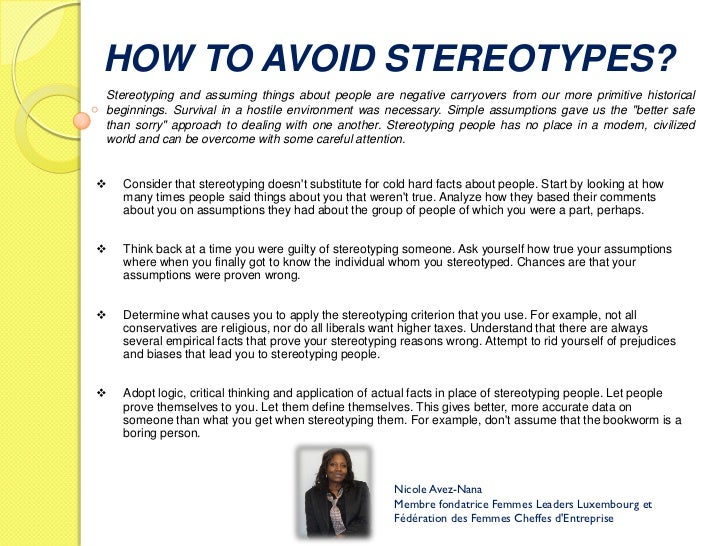 "how to stop stereotyping of old people Who are you calling old let's ditch ageist stereotypes n ot many people like being called old the language used to describe people in their ""old"" is."