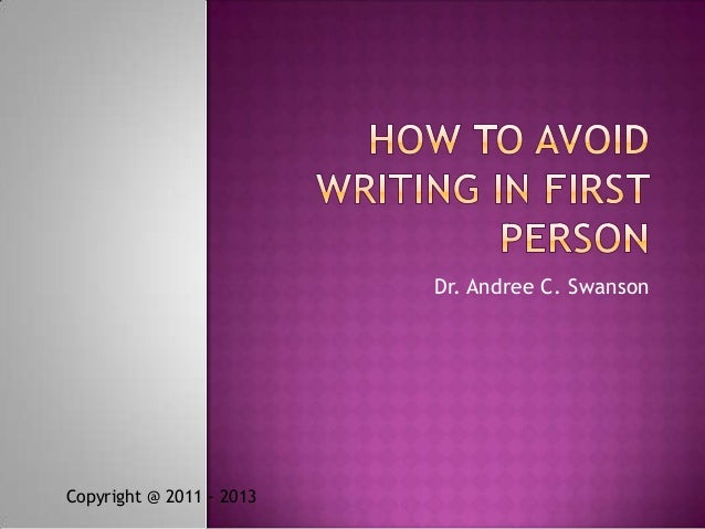 Dr. Andree C. SwansonCopyright @ 2011 - 2013