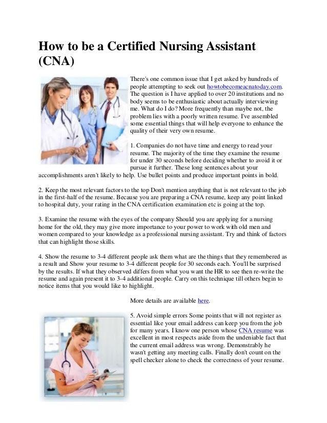 Be a certified nursing assistant click for details cna santa certified
