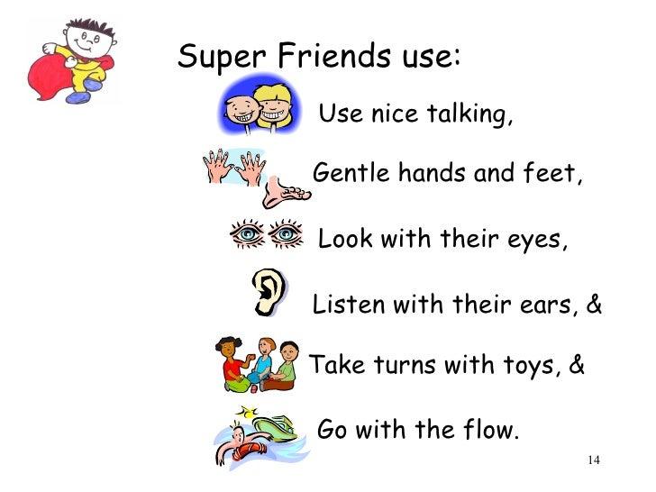 I Can Be A Super Friend