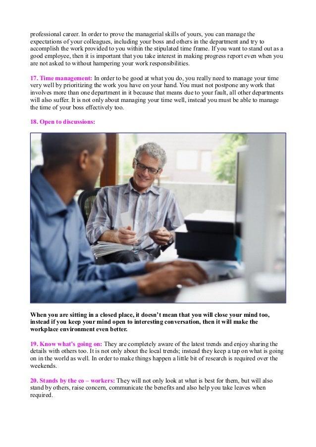Employee Skills