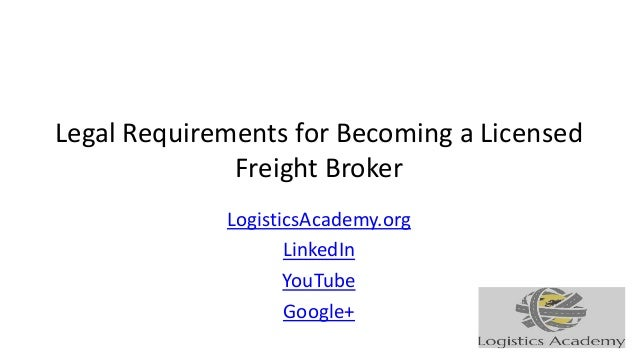 How to become a broker agent freight