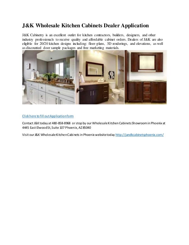 How to become a j k wholesale kitchen cabinet dealer in for J kitchen wholesale