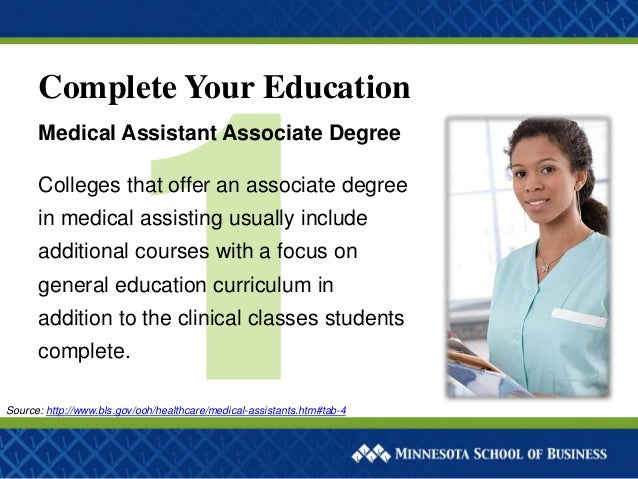 Medical Assistant degrees courses
