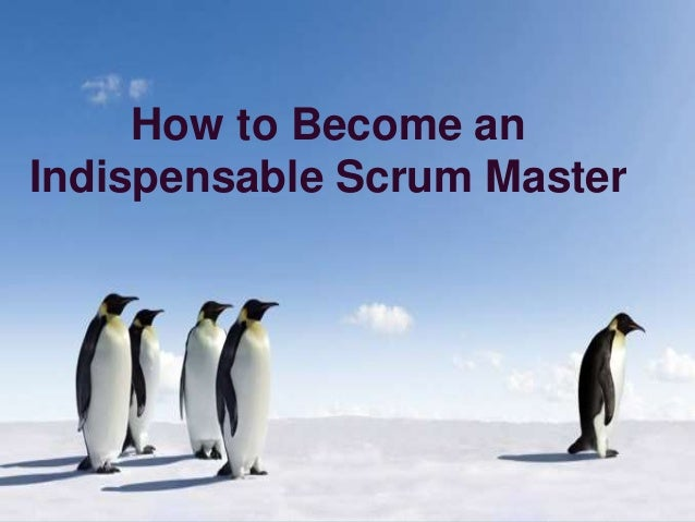 how to get started as scrum master