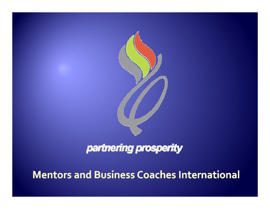 A global family of believers trained and   accredited by MBCI to deliver   professional mentoring and business   coaching ...