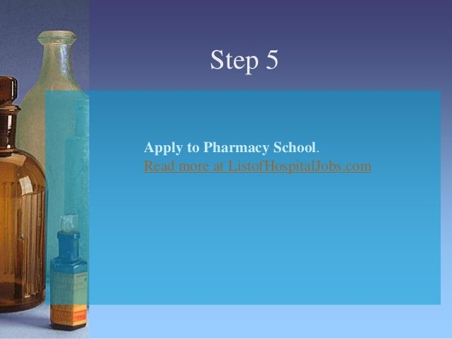What are the step of becoming a pharmacist?
