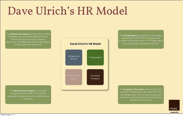 HR business partnering