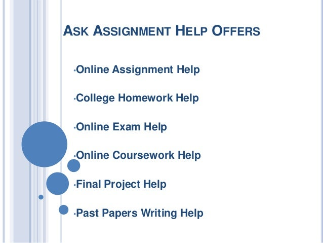 Get Help With Your Homework, Right Now!